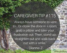 Caregiver Tip #115 #elderlycareinspiration