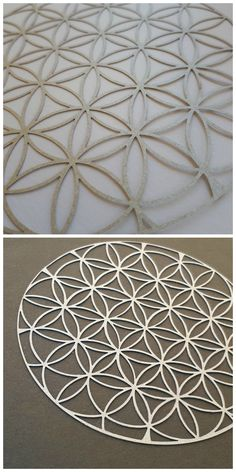 Sacred Geometry paper wall art, Flower of life paper laser cut art, home warming gift, spa decor, spiritual art, laser art decor, yoga gift, yoga studio decor.