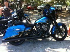 2012 Custom Harley Davidson Street Glide #harleydavidsonfatboy