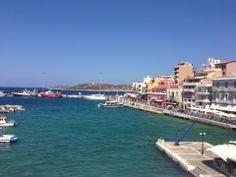 Άγιος Νικόλαος (Agios Nikolaos) Crete, San Francisco Skyline, Four Square, Natural Beauty, Places, Nature, Travel, Beautiful, Naturaleza