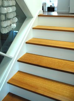 White Oak Stair Treads | Replacing Oak Stair Tread   Flooring   DIY  Chatroom   DIY Home ... | Mantle And Banister | Pinterest | Oak Stairs, Stair  Treads And ...