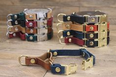 Martingale collar Black collar Leather dog collar FREE ID Newfoundland Puppies, Leather Key Holder, Martingale Dog Collar, Handmade Dog Collars, Leather Dog Collars, Animal Fashion, Dog Park, Boxer Dogs, Pet Gifts