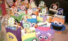 Sesame Street Party Goodie Bags