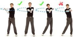 Here's another drill to help you achieve correct arm and hand rotation through the golf ball. If you haven't seen it already, you might want to watch the extension and rotation lesson before workin...