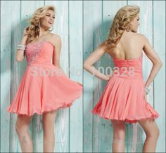 Find More Vestidos de Baile de Estudantes Information about feitos de uma  linha acima do joelho mini sexy sem mangas com beading sweetheart backless curto prom/vestidos de noite 2014 novo design,High Quality Vestidos de Baile de Estudantes from Rose Wedding Dress Co., Ltd on Aliexpress.com