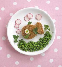 Art food .Fish.