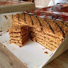 Marlenka honey cake!