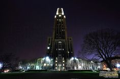 The University of Pittsburgh's Cathedral of Learning #Pittsburgh