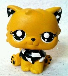 Taxi Cab Critter Cat * OOAK Custom Littlest Pet Shop