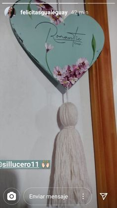 Decoration Shabby, Mandala Art, Ideas Para, Color Schemes, Diy And Crafts, Mixed Media, Hearts, Wreaths, Frame