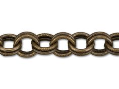 Brass Oxide Brass Textured Double Cable Chain by the Foot - Sturdy chain will create a reliable and stylish foundation for your designs when you use the brass oxide brass textured double . Brass Texture, Jewelry Making Supplies, Metal Chain, Cable, Stylish, Cabo, Electrical Cable, Cords, Wire