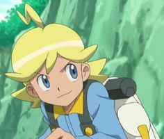 Clemont without glasses