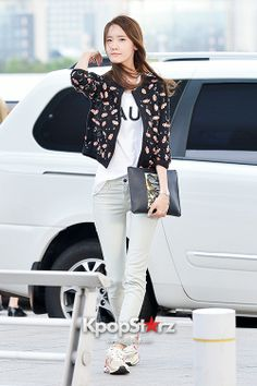 140604 yoona's airport fashion
