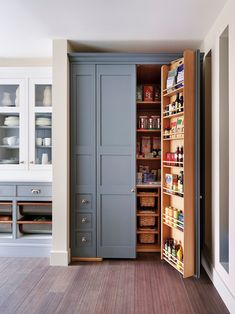 Save this kitchen storage idea if you like it.