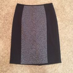 Beautiful CK Skirt  No flaws, slit in the back! Has a little stretch to it. Zips in the back. Would be perfect for a date or for the office! Calvin Klein Skirts Pencil