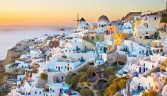 Astro Palace Hotel & Suites: While on Santorini, be sure to catch the dramatic sunsets, when the island is literally lit up. #JSVolcano