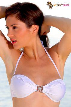 Bahia String White. L'un des nombreux #maillotdebain et #bikini #string proposés par my-sexy-bikini.com