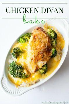 Chicken Divan Bake