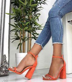 Perixir Women Pumps Fashion Heels Sandals For Women Summer Shoes Wedding Heels Women Buckle Strap High Heels Size Stilettos, Pumps Heels, Stiletto Heels, Heeled Sandals, Red Sandals, Shoes High Heels, Flat Shoes, High Boots, Prom Heels