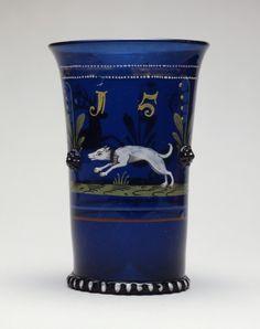 Hunt Scene Beaker (Jagdhumpen) | LACMA Collections