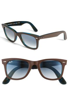 ea3cc1f026e8 Ray-Ban 'Classic Wayfarer' 50mm Sunglasses / Color: Brown $155.00 Ray Ban