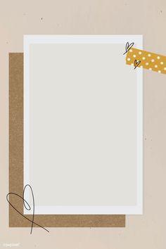 Collage Foto, Collage Frames, Doodle Frames, Polaroid Picture Frame, Birthday Post Instagram, Instagram Frame Template, Powerpoint Background Design, Photo Collage Template, Framed Wallpaper