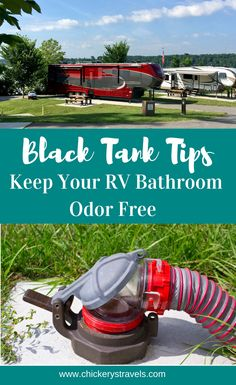 Odor Free RV Black Tank Tips - Chickery's Travels Rv Camping In Calif. - Odor Free RV Black Tank Tips – Chickery's Travels Rv Camping In California - Rv Camping Checklist, Rv Camping Tips, Travel Trailer Camping, Van Camping, Camping Essentials, Rv Travel, Camping Life, Rv Life, Family Camping