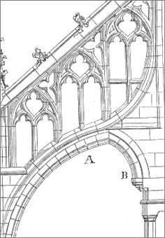 gothic architecture definition world history Gothic Architecture Drawing, Architecture Antique, Cathedral Architecture, Roman Architecture, Historical Architecture, Architecture Details, Architecture Definition, Duomo Milano, Flying Buttress
