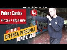 Como Defenderse de Alguien mas Grande, Fuerte y Alto. Aprende Defensa Personal. - YouTube