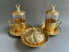 Coffee Gift Sets, Coffee Gifts, Gold Cup, Cold Drinks, Cool Drinks