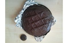 Giant Jaffa Cake (recipe on the site)