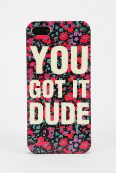 If only we could hear Michelle Tanner on the other line every time we used this rad You Got It Dude iPhone 5 case ($16).