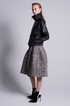 J. Mendel Pre-Fall 2015 #fashion #clothes #skirt