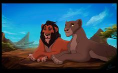 Doubts by ~TLK-Ileana on deviantART An insecure teenager Scar tells his worries to his mother, queen Uru. Lion King Story, Lion King 1, Lion King Fan Art, Disney Lion King, King Art, All Disney Movies, Lion King Pictures, Photo To Cartoon, Le Roi Lion