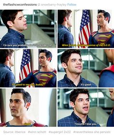 #Supergirl #Season2 #2x22 - Winn is the ultimate fanboy, he's all of us