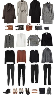 Fall Capsule Wardrobe #capsulewardrobe #autumnwardrobe