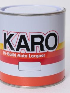Primer Surfacer Grey 9050 : designed as a base coat for subsequent application of Kangaroo Auto Spray Lacquer.