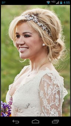 1000 images about celebrity weddings on pinterest for Kelly clarkson wedding dress replica