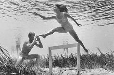 Underwater photography before Photoshop - Bruce Mozart, 1950