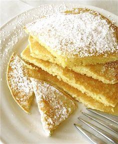 lemon GF pancakes