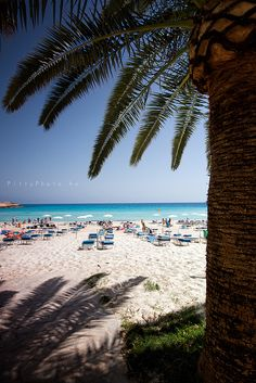 Ayia Napa, Nissi Beach, Cyprus Visit Cyprus with us! tricktab.com #travel #Cyprus