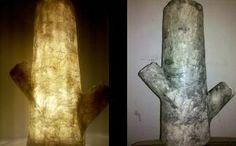 Cool lamp wood imitation!!! by intereest on Etsy