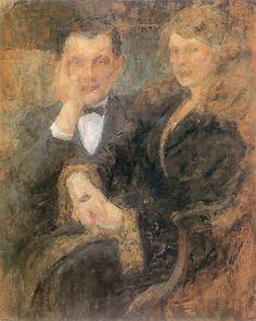 The Athenaeum - Double Portrait (Olga Boznańska - )