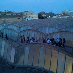 Visita nocturna a les voltes de la teulada del mNACTEC! Terrassa