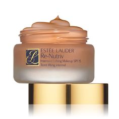 Estee Lauder Re-nutriv Intensive Lifting Creme Makeup SPF 15 - Beech. Estee Lauder Re-nutriv Intensive Lifting Creme Makeup SPF 15 - Beech. Makeup Tips For Older Women, Beauty Hacks For Teens, Foundation For Mature Skin, Best Foundation, Liquid Foundation, Best Makeup Tips, Best Makeup Products, Makeup Tricks, Beauty Products