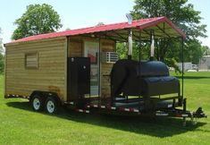 Barbecue Concession Trailer