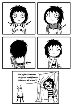There is so much going on in every woman's life. There are sad, funny, and sometimes absurd things. Sarah Andersen was able to show a woman's life in her comic series. Sarah Anderson Comics, Sarah's Scribbles, The Awkward Yeti, 4 Panel Life, Funny Memes, Hilarious, Funny Bra, Funniest Memes, Cartoon Memes