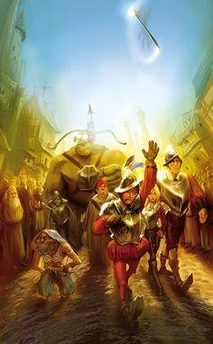Sir Terry Pratchett 's Discworld by marc simonetti, via Behance Terry Pratchett Discworld, Discworld Map, Fanart, Neil Gaiman, Sci Fi Fantasy, Mythology, Novels, Illustration Art, Cartoon