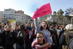 Concentración por la educación pública en Valencia (21-02-2012)