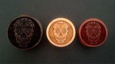 Custom Handmade Organic Skull Candy  Day of the Dead por ULEKstore